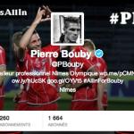Les joueurs du Nîmes Olympique sur Twitter
