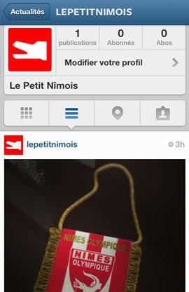 Le Petit Nîmois sur Instagram