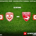 AS Nancy Lorraine - Nîmes Olympique 4ème journée de Ligue 2
