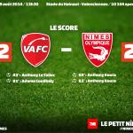 Valenciennes FC 2 - Nîmes Olympique 2