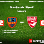 GFC Ajaccio - Nîmes Olympique 2-0