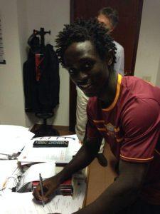 Franck-Cedric Njiki Tchoutou au Nîmes Olympique