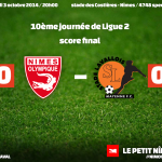 Nîmes Olympique 0 - Stade Lavallois 0