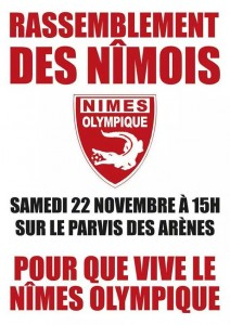 rassemblement nimes olympique