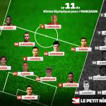 composition Nîmes Olympique - AS Monaco